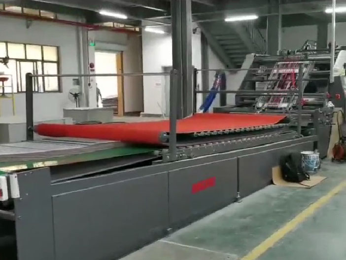 高速裱纸机系统