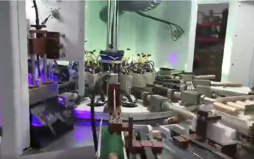 软管三色丝印机系统