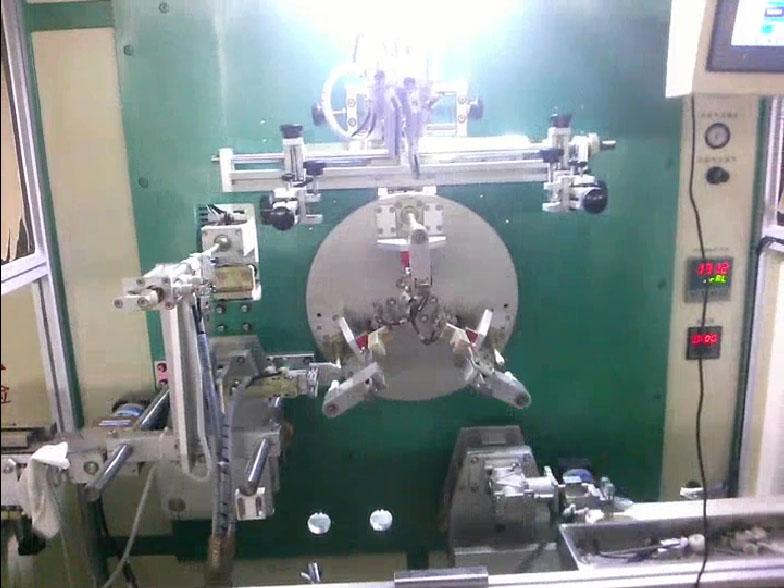 玻璃瓶丝印机系统